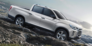 New SsangYong Musso & Rhino LWB